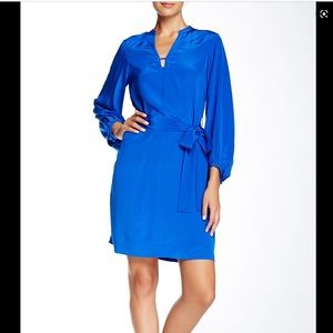 Royal Blue Diane Von Furstenberg Tanyana Dress